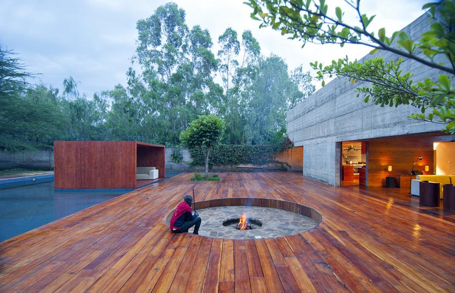 Villa in Kenya con patio e camino