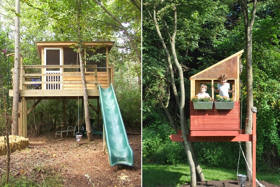 Progetto casa sull albero per bambini - Casa sull albero progetto ...