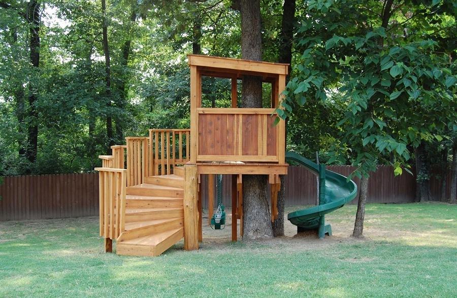 casa albero per bambini piccoli