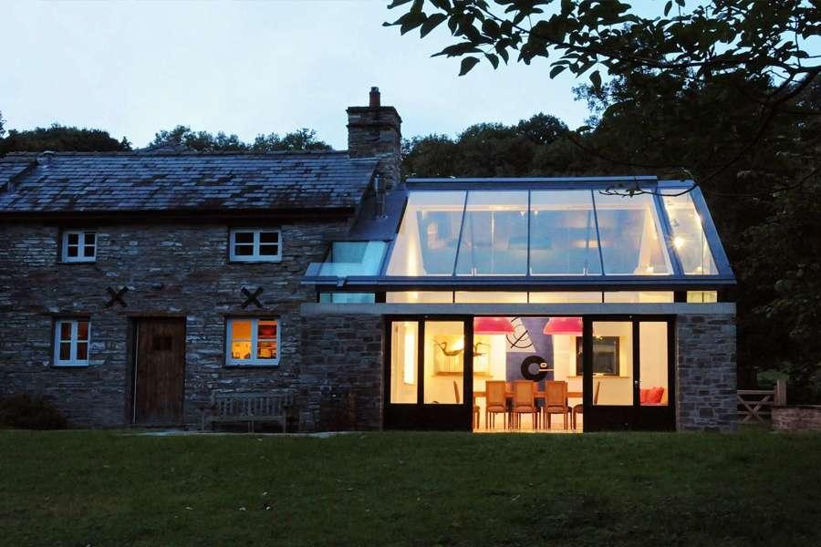 Tetti trasparenti sfruttare al meglio la luce naturale for Case in vetro