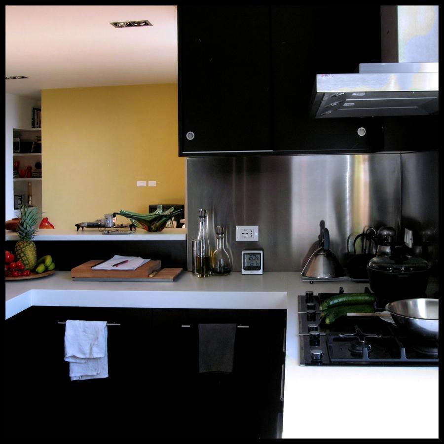Casa DDZ Lido di Venezia - soggiorno e cucina