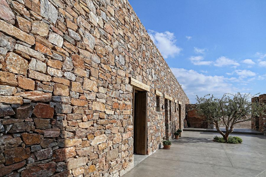 Una casa vacanze da sogno in grecia idee costruzione case for Piani casa ultra contemporanei