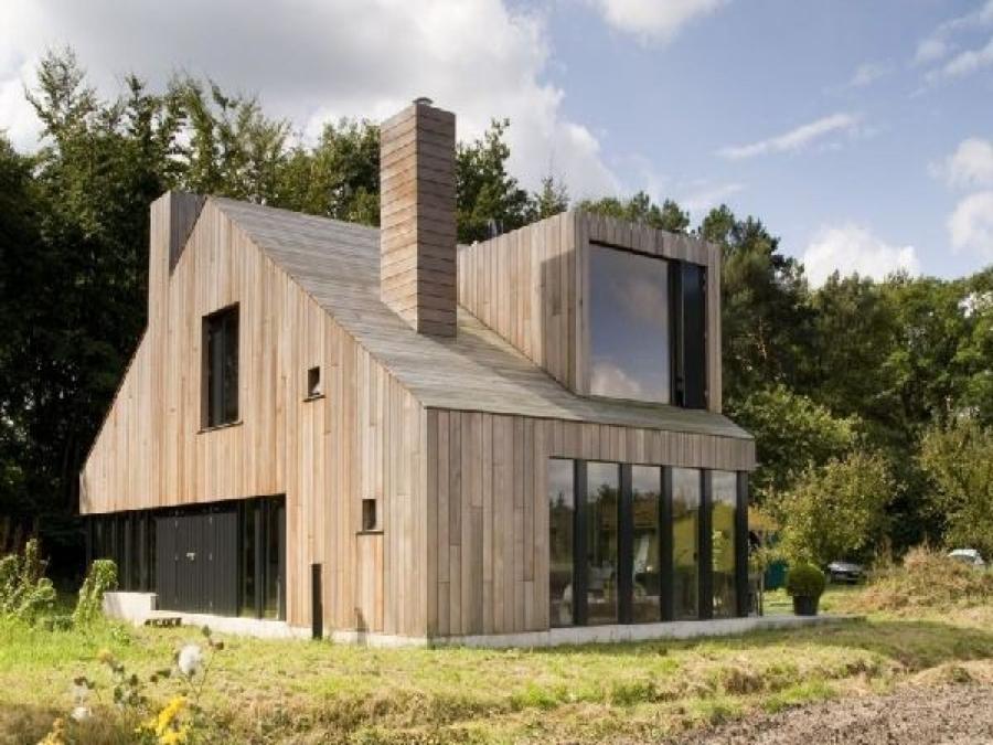 Foto casa in legno moderna di marilisa dones 339549 for Casa moderna con tetto in legno