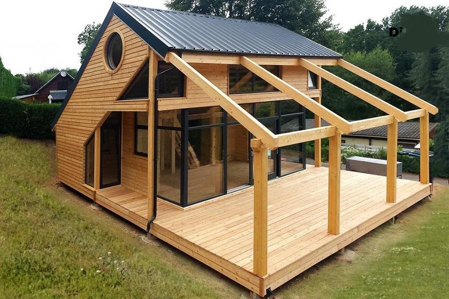 Casa in legno Port Salars -  Franta