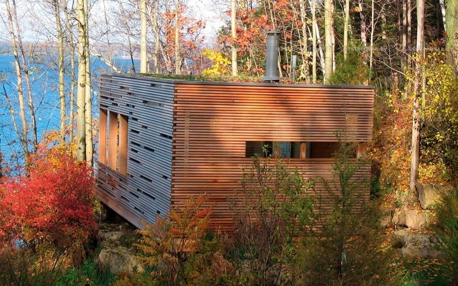 casa legno laminato