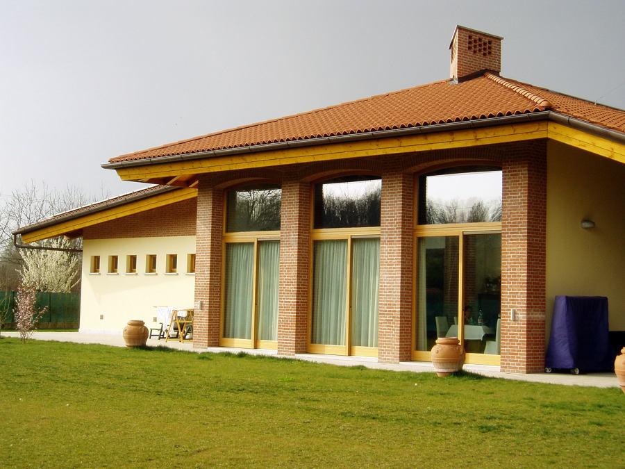progetto costruzione casa di abitazione unifamiliare