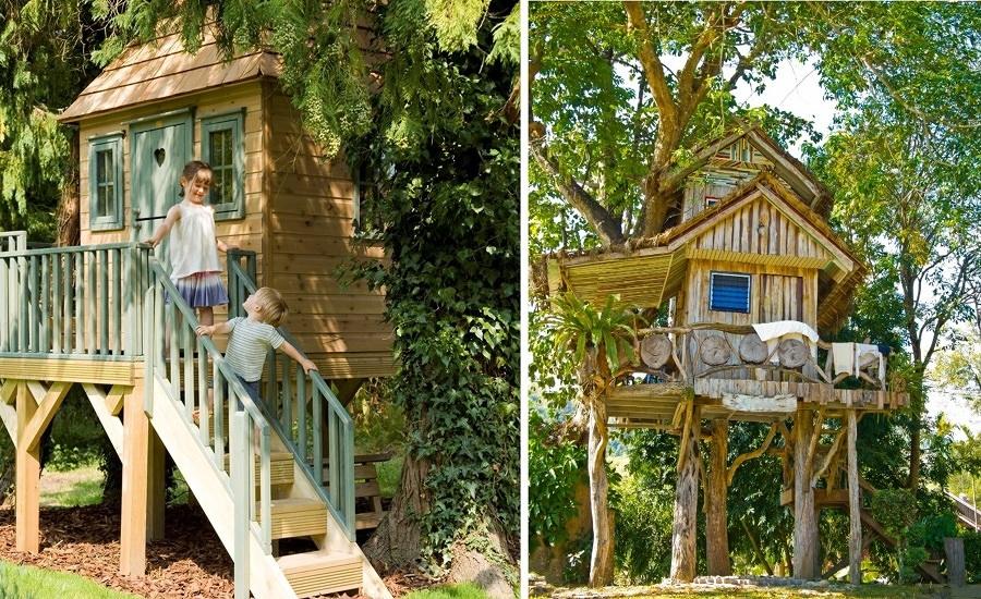 Foto casetta sull albero per bambini piccoli di valeria del treste 319388 habitissimo - Casa sull albero progetto ...