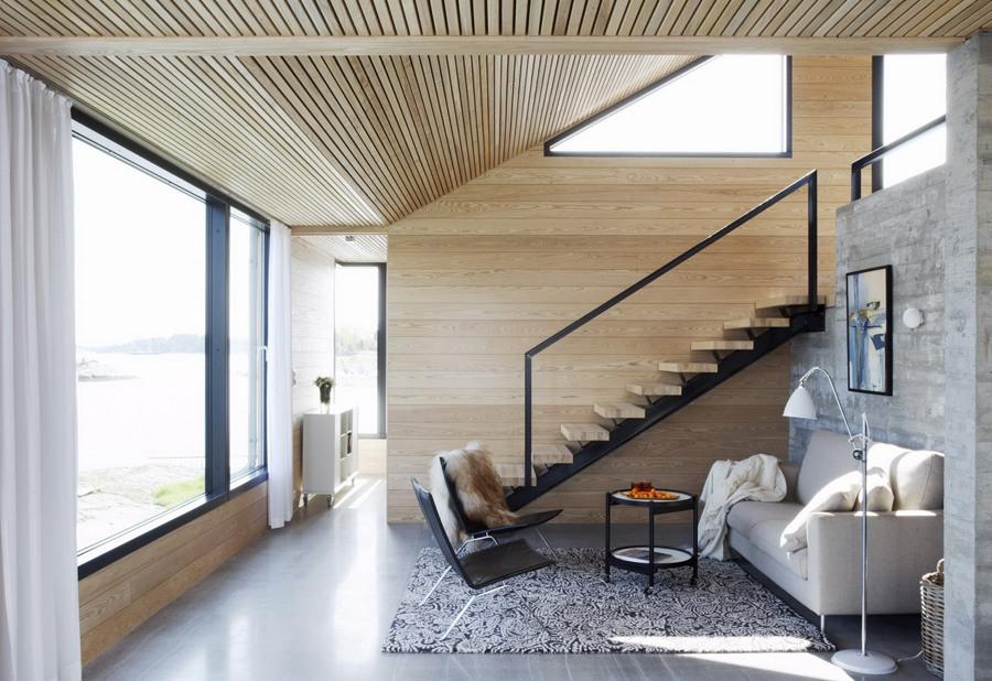 cemento e legno
