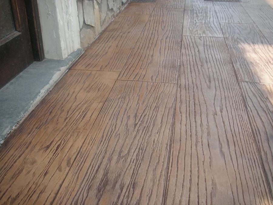 Calcestruzzo Stampato Palermo : Foto cemento stampato parquet di campaniastone srl