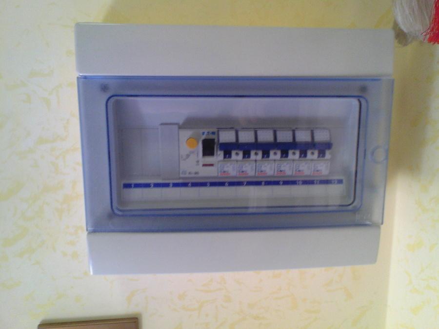 Centralini per impianto elettrico civile idee elettricisti - Convettori elettrici da parete ...