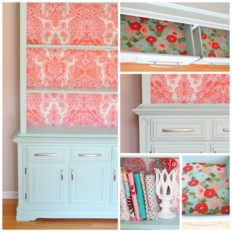 chalk paint paisley