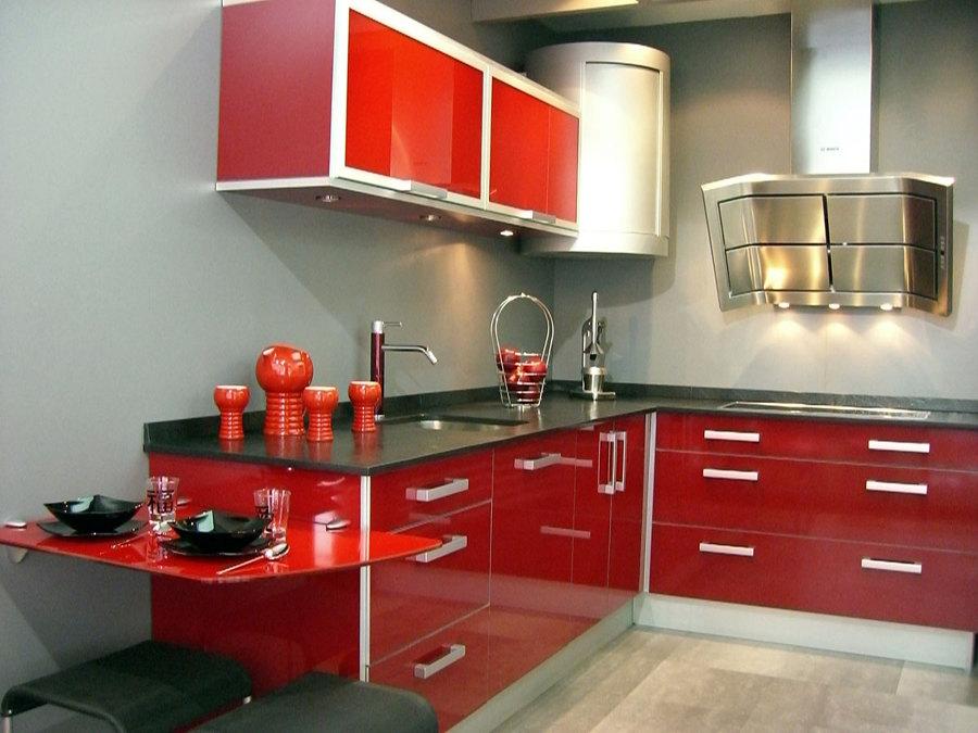 Come arredare una cucina moderna minimalista idee for Decoracion de cocinas integrales pequenas
