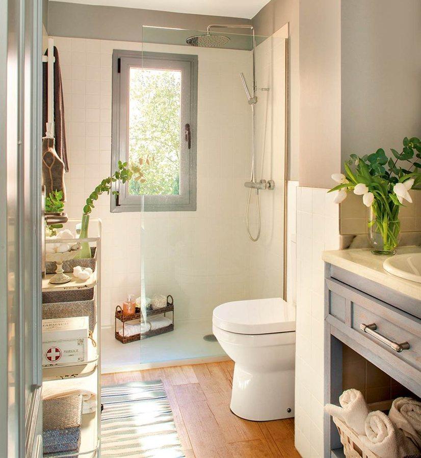 7 bagni piccoli ben organizzati idee ristrutturazione bagni for Arredare bagno piccolo con lavatrice