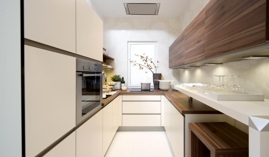 Come sopravvivere in una cucina stretta idee for Moderni piani casa stretta