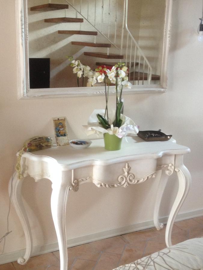 Foto: Consolle con Specchiera e Specchio Invecchiati di Homecolors ...