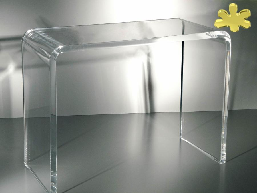 consolle moderne in plexiglass idee interior designer