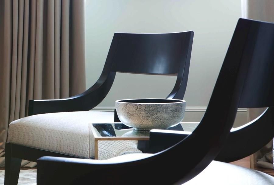 Consulenza scelta arredi per zona living appartamento in Lugano (Svizzera).