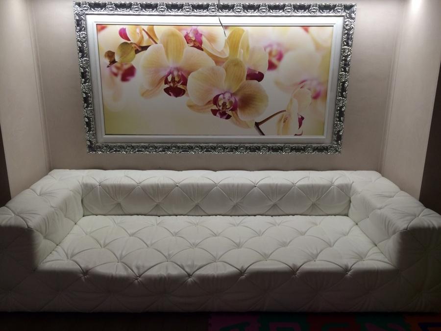 Consulenza scelta e fornitura divano per residenza privata in Meda (Mb)
