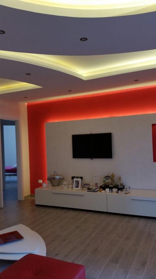 Molto Foto: Contro Soffitto In Cartongesso Sala di Particolar Design  TI45