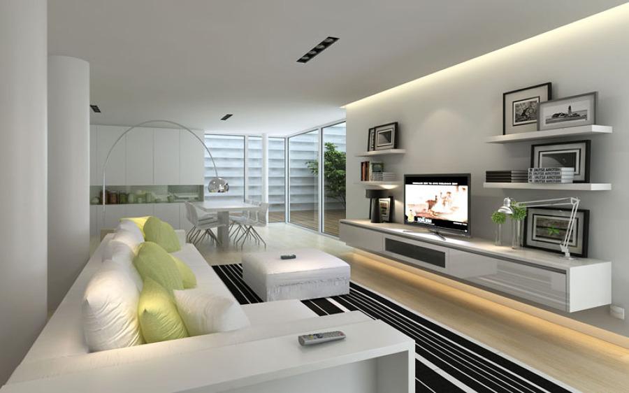 Illuminazione Soggiorno Cucina: Soluzioni come illuminare la casa luce e design.