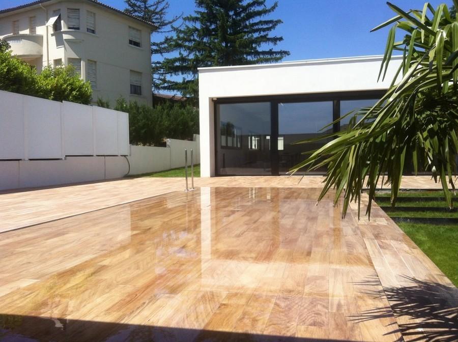 Coperture per la piscina preparala per l 39 autunno idee costruzione piscine - Coperture mobili per piscine ...