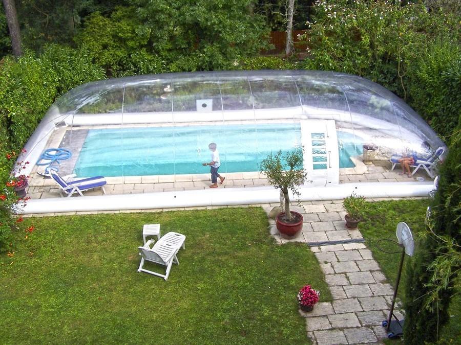 Coperture per la piscina preparala per l 39 autunno idee costruzione piscine - Piscina plastica rigida ...