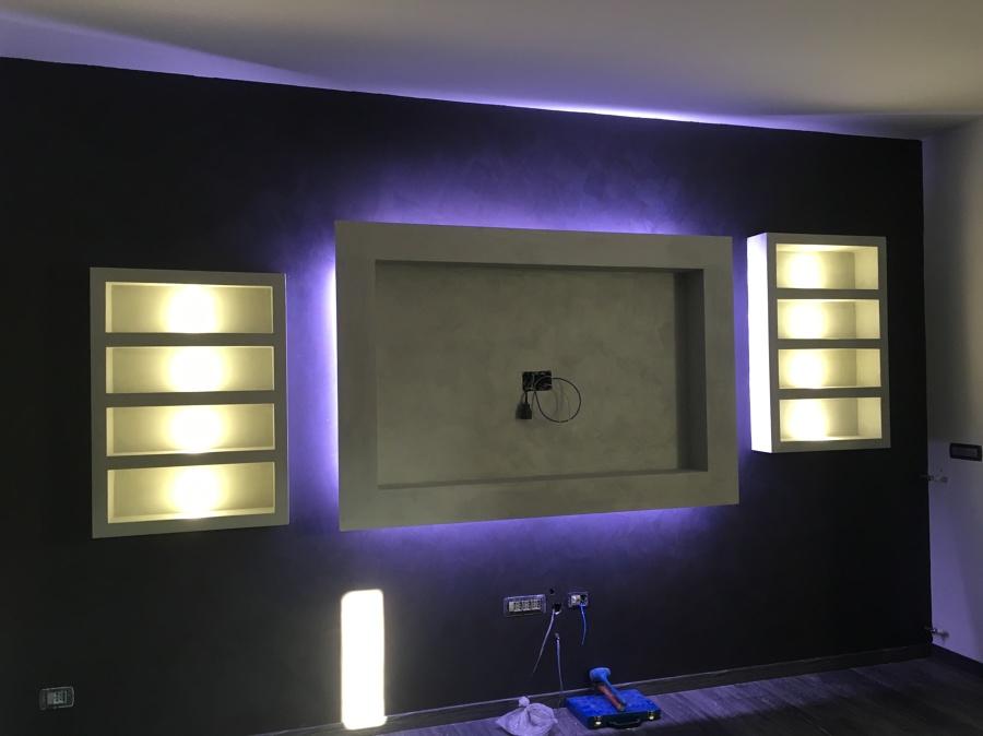 Ristrutturazione appartamento idee ristrutturazione casa - Porta tv in cartongesso ...