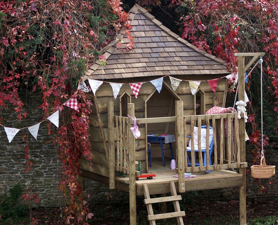 Costruire una casetta sull'albero