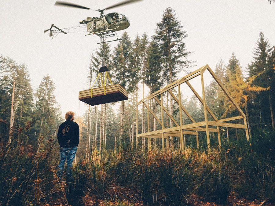Costruzione casa prefabbricata in legno