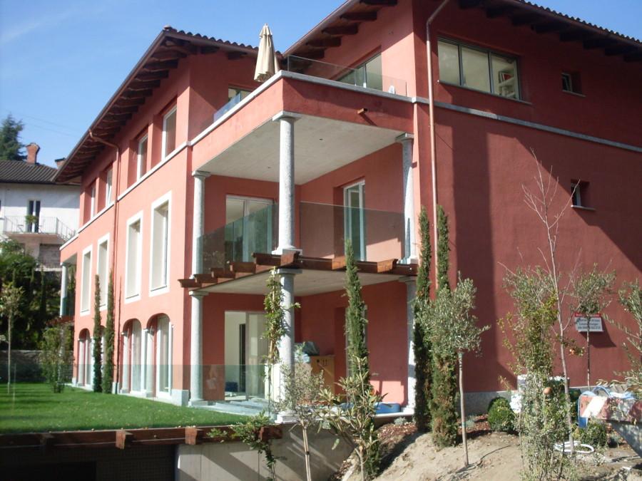 Costruzione palazzina residenziale in bioedilizia