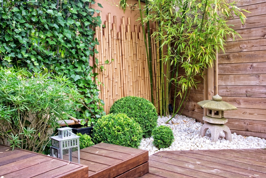 creare giardino giapponese