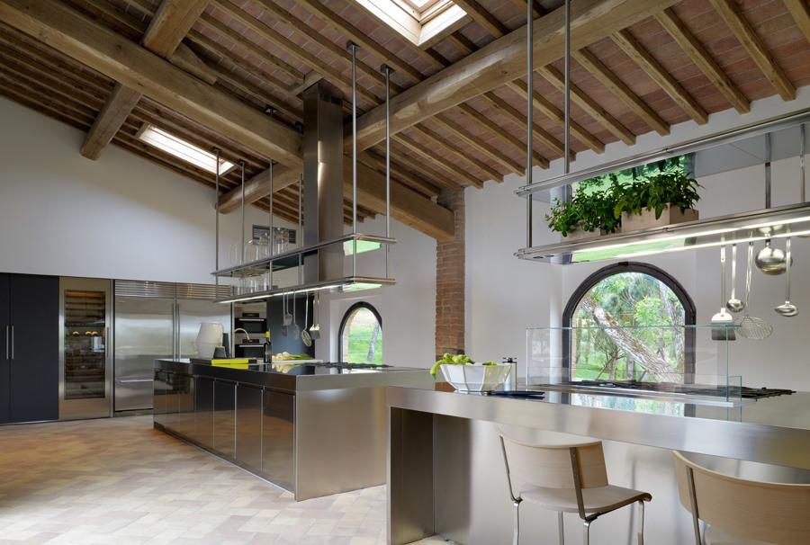 Foto: Cucina Acciaio di Manuela Occhetti #462600 - Habitissimo