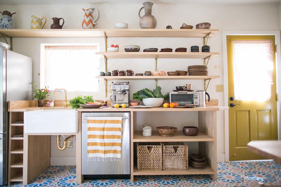 7 segreti per una cucina con mobili a vista idee for Cucina aperta