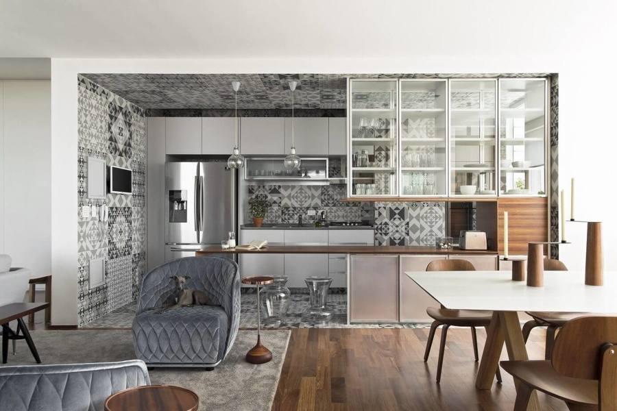 Foto: Cucina Aperta sul Soggiorno di Rossella Cristofaro #448546 ...