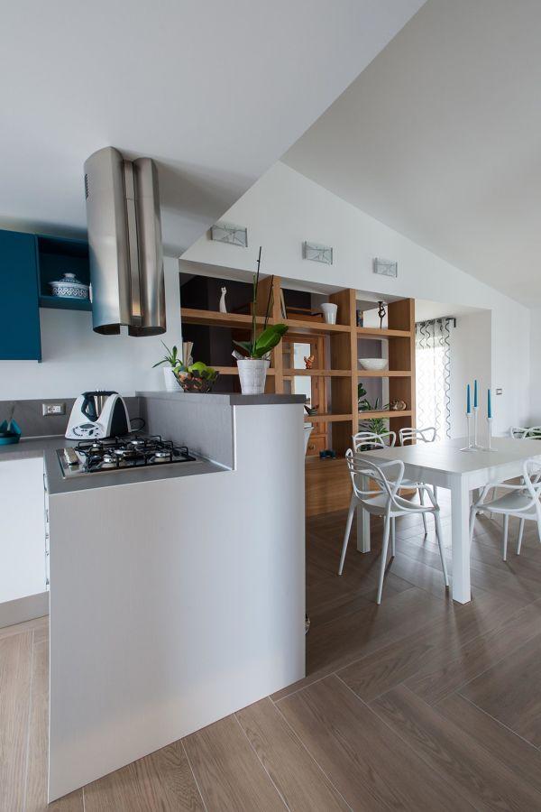 Recupero di un sottotetto nel centro della sicilia idee for Cucina aperta