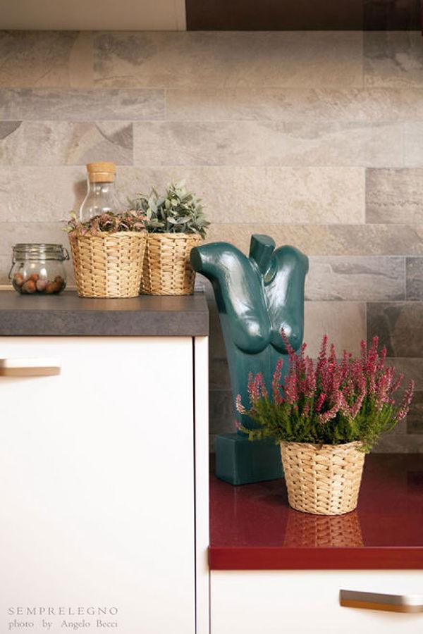 Foto cucina arredata con mobili moderni fatti su misura di semprelegno 481148 habitissimo - Mobili cucina su misura ...