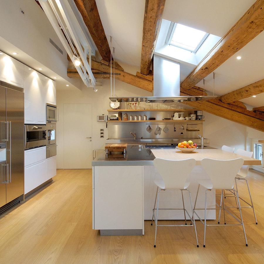 cucina attico