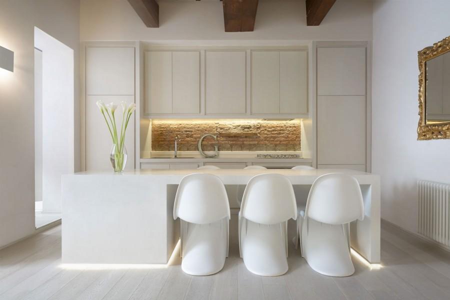 Foto: Cucina Bianca Ad Incasso di Rossella Cristofaro #425942 ...