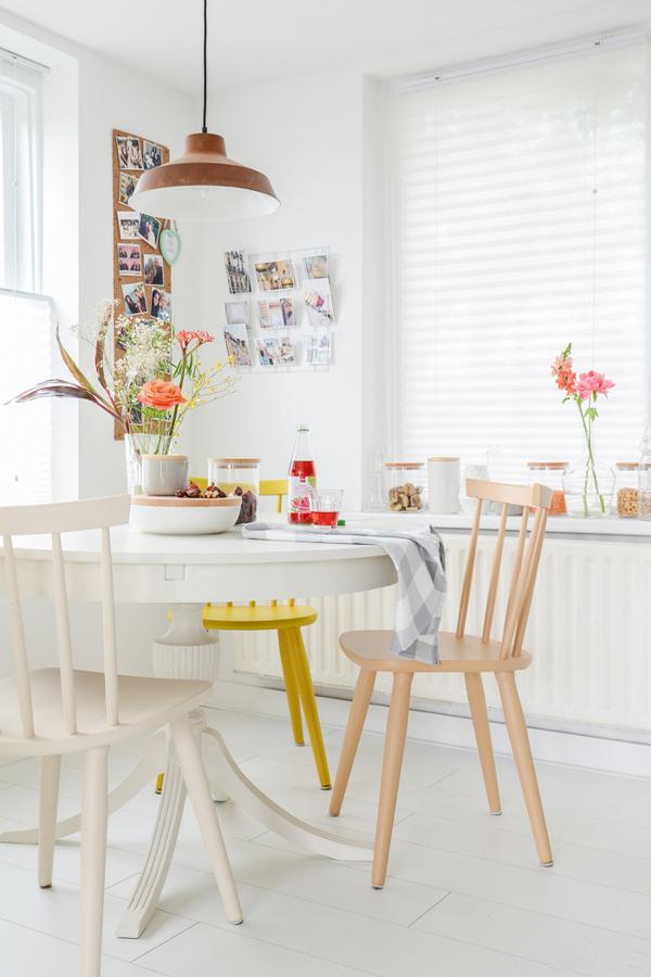 Scopri i punti chiave dell arredamento romantico idee for Sedie gialle