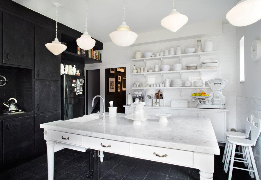 Foto: Cucina Bianca e Nera di Rossella Cristofaro #488682 - Habitissimo