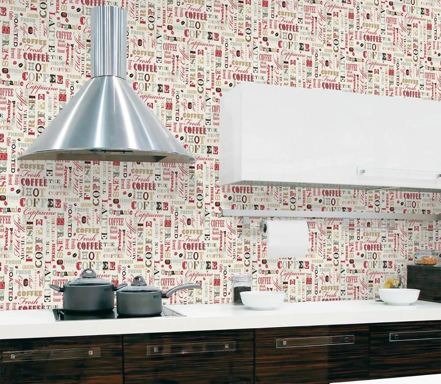 Carta da parati giornale ya48 regardsdefemmes for Carta adesiva lavabile per cucina