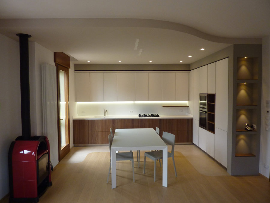 Foto: Cucina con Cartongesso e Nicchie di Pittore Edile Decoratore ...