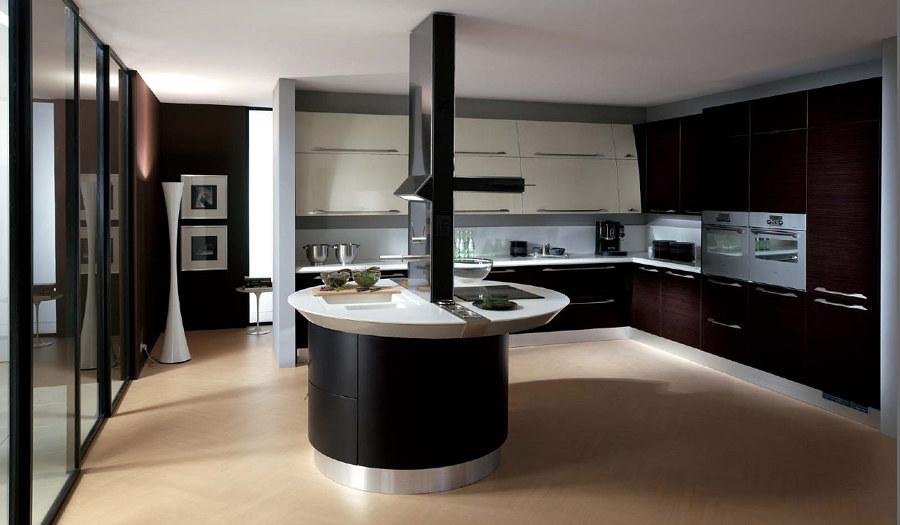 Foto: Cucina con Isola Moderna di Valeria Del Treste #311903 ...