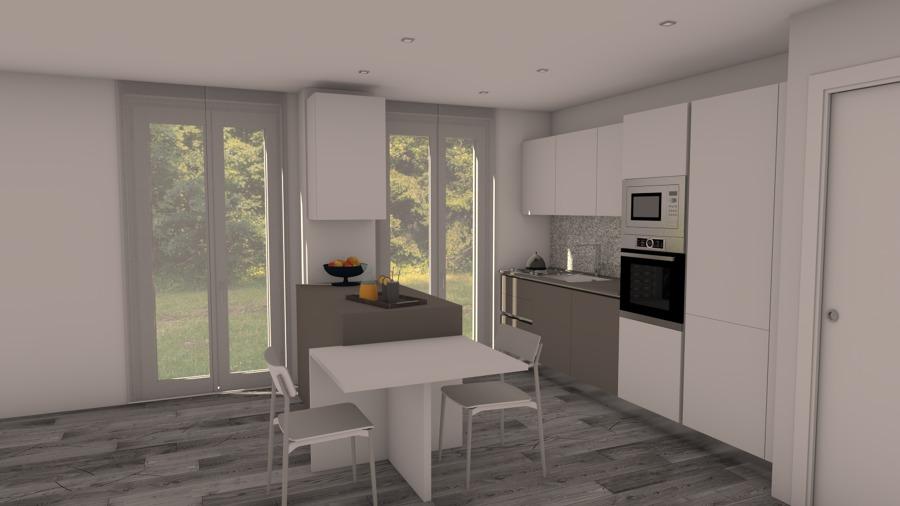 Foto cucina con penisola 01 di primo giancarlo interior for Progetto cucina online gratis