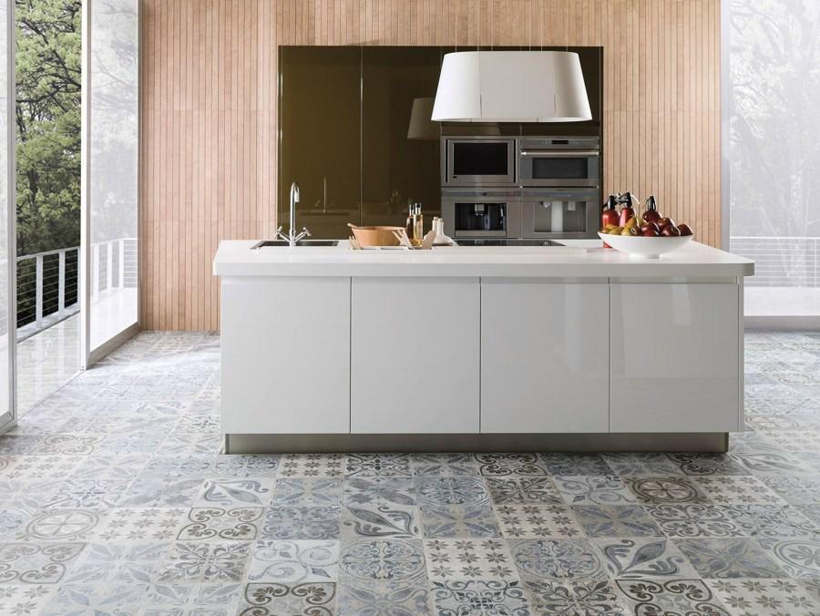 Foto: Cucina con Piastrelle Idrauliche di Federica Bossoni #647361 ...