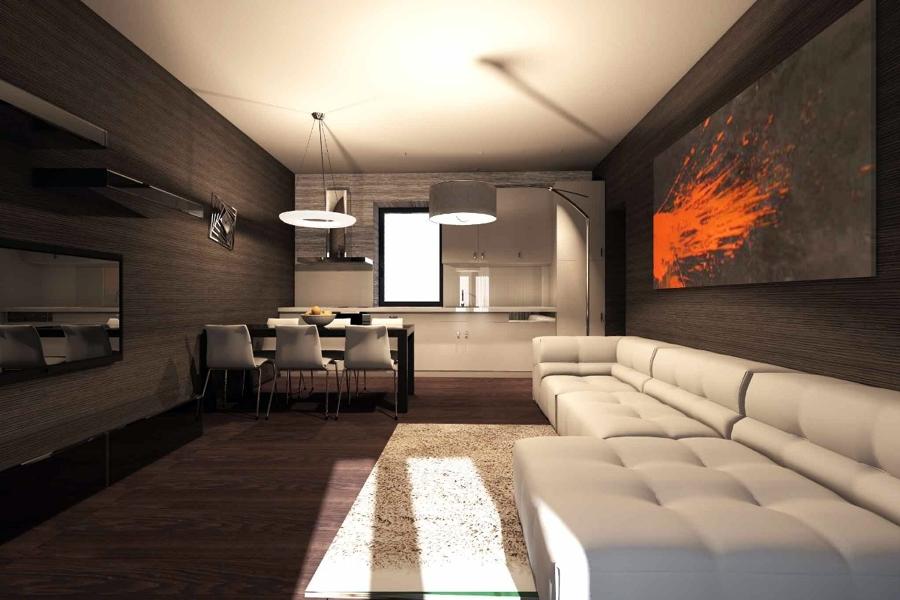 Progetto di interni appartamento idee ristrutturazione casa for Design moderno interni
