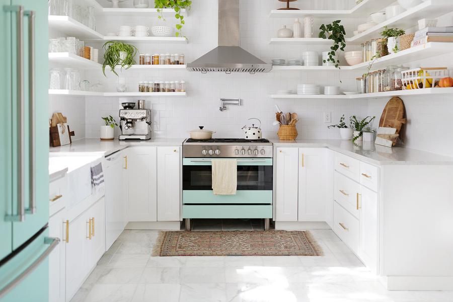 Prima e dopo: la ristrutturazione di queste piccole 5 cucine