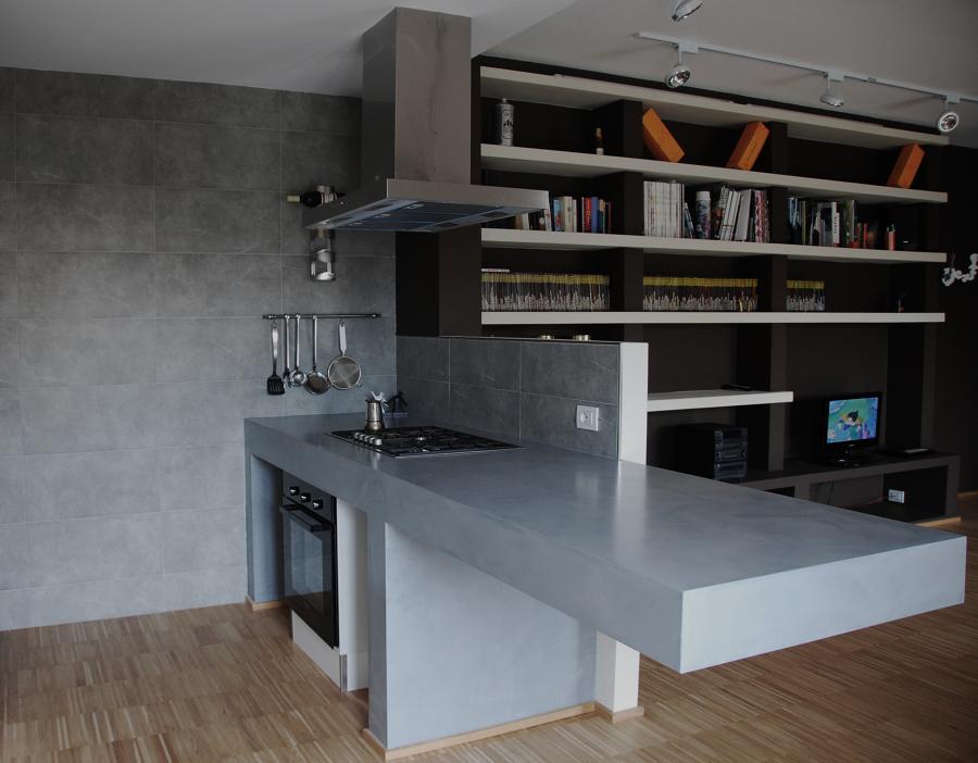 Appartamento di nuova costruzione idee architetti - Costruzione cucina ...