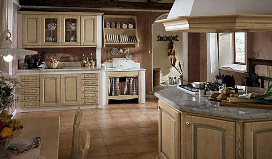 Foto cucina finta muratura di artelegno 369564 habitissimo for Casa classica pesaro