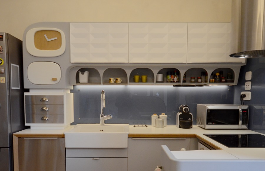 Cucina Ikea personalizzata